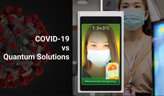 COVID-19 vs Quantum Solutions